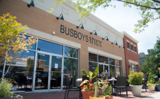 Hyattsville location of Busboys and Poets